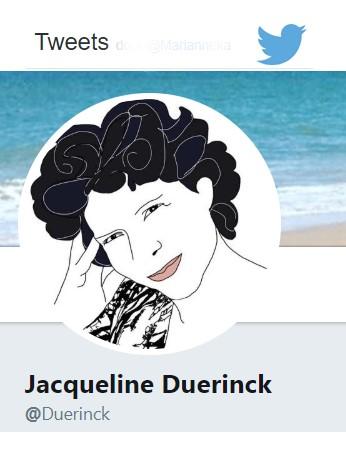 Jacqueline op Twitter
